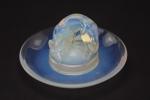 Rene Lalique Renard opalescent ashtray