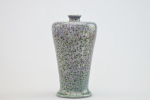 Ruskin pottery small high fired vase