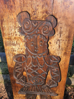 pine ginger bread moulds of a man and woman