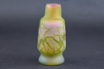 Small Galle cameo glass vase C1900