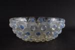 Rene Lalique opalescent Plumes de paon Bowl