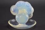 Rene lalique Soucis opalescent ashtray