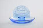 Rare electric blue Caravelle ashtray