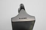 Rene lalique topaz deux aigles paperweight