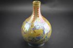 Pilkingtons Royal Lancastrian bird design Lustre vase by William Mycock 1927