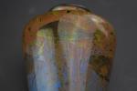Pilkingtons Royal Lancastrian Fish design Lustre vase by Richard Joyce C1920s