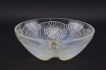 Rene Lalique coquilles opalescent no3 bowl