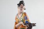 Goldscheider Art Deco Figure of a Japanese woman