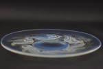 Rene Lalique opalescent Ondines plate