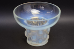 Rene Lalique opalescent beautrellis vase vase