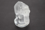 Rene Lalique Toby elephant paperweight