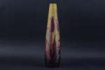 D'argental cameo glass vase