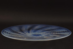 Rene Lalique opalescent Ondes plate