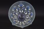 Rene lalique opalescent rampillon vase