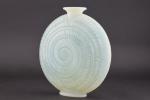 Rene lalique opalescent Escargot vase