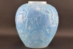 Rene lalique opalescent Perruches vase