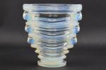Rene Lalique opalescent Saint-Marc vase