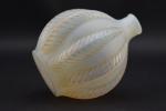 Rene Lalique opalescent Malines vase