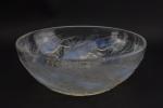 Rene Lalique Opalescent Chiens Bowl