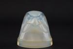 Rene Lalique Tete d'epervier opalescent car mascot