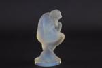 Rene Lalique opalescent Sirene Car mascot