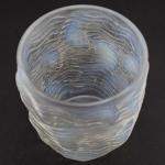 Rene Lalique opalescent Dauphins Vase