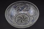 Rene Lalique opalescent Chiens No1 bowl