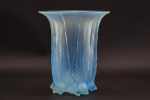 Rene Lalique opalescent Eucalyptus vase