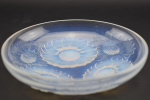 Rene Lalique opalescent vernon shallow bowl