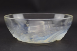Rene Lalique opalescent Ondines glass bowl
