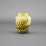 Small galle fern design vase
