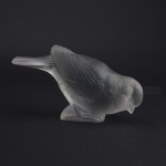 Rene Lalique Moineau Timide paperweight