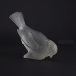 Rene Lalique Moineau hardi paperweight
