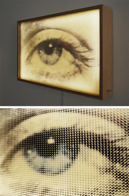 Pixellated Lee Miller Eye