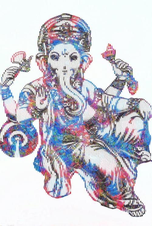 Ganesh le dieu porte bonheur et porte chance