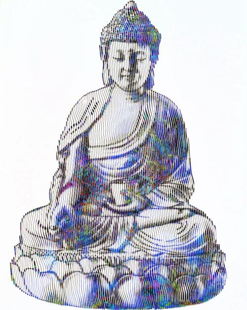 Le bouddha symbole de la sagesse