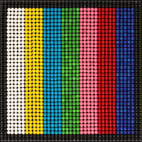Bubble Gums Color bar