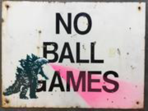 No Ball Games - Godzilla
