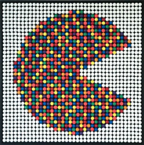 Bubble Gums Multicolour Pacman