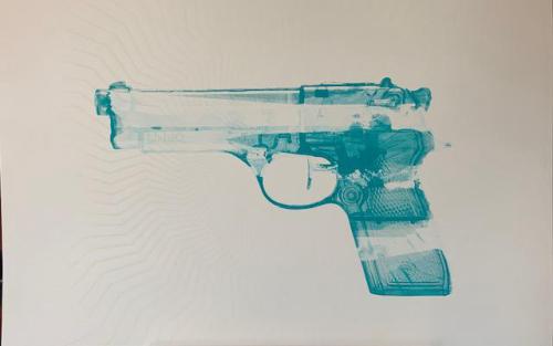 Turquoise Gun