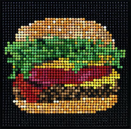 Beyond Meat Bubble Gums Burger
