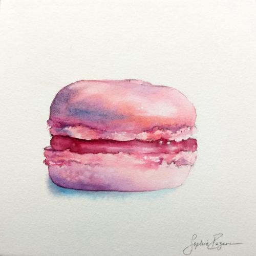 Macaron Cerise Griotte
