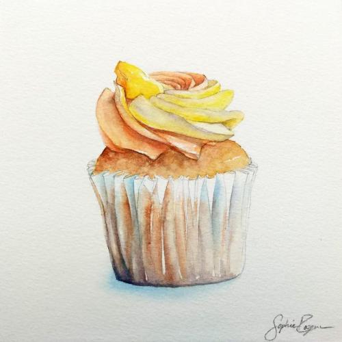 Cupcake Vanille Mangue