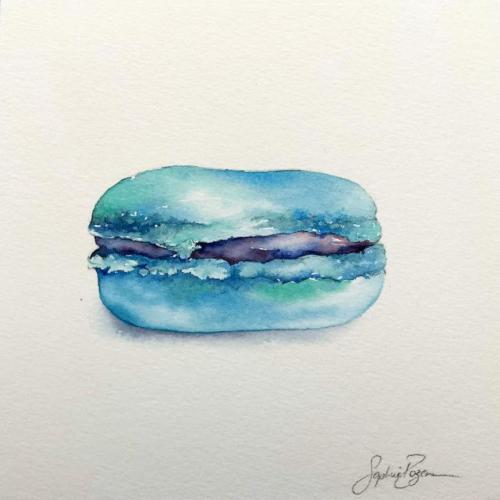 Macaron Bleuet