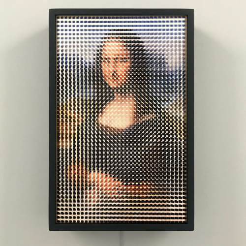 Pixelated Mona Lisa