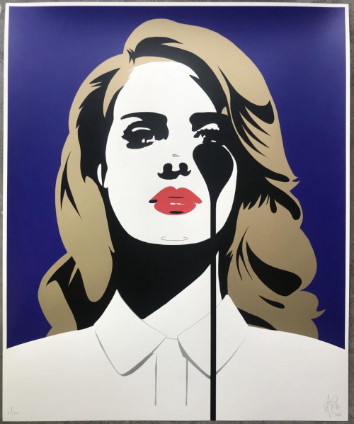 Lana Del Rey's Nightmare - Screenprint edition