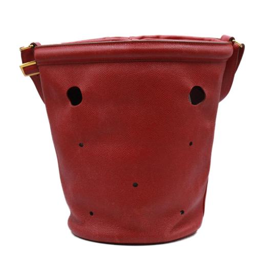 Vintage Hermes Mangeoire Rouge