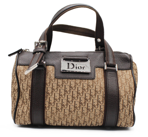 Dior Bston bag in mongram canvas