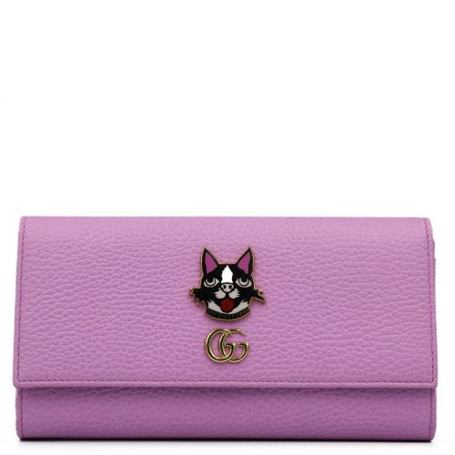 Pink Leather Bosco Wallet