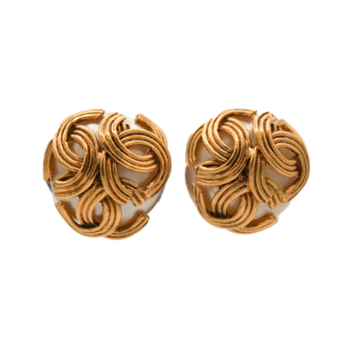 Chanel Vintage golden earrings